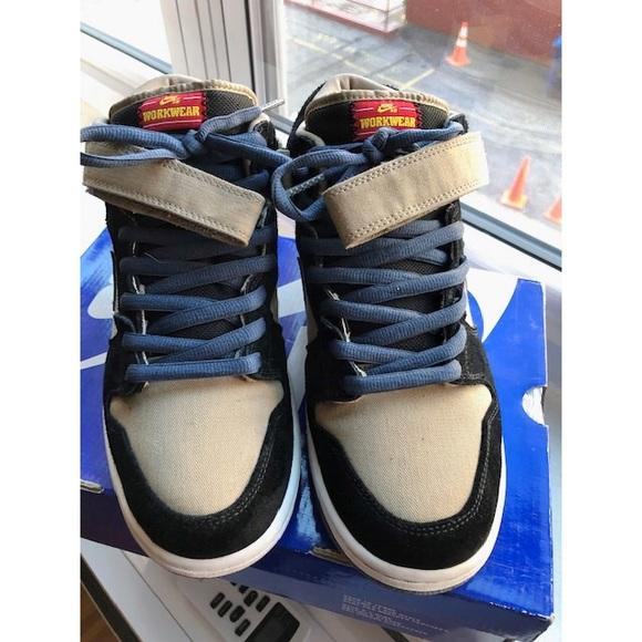 new style 2c273 fcff1 Nike SB Dunk Mid Workwear. Size 10. M_5c6c38094ab63308620fe90e